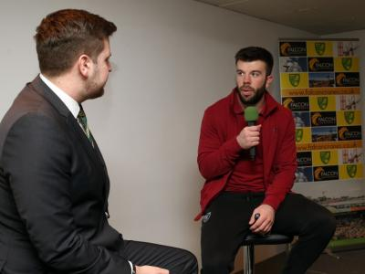 Grant Hanley Interview With Falcon Display
